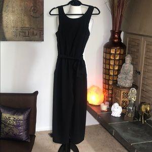 Zara cropped low back jumpsuit